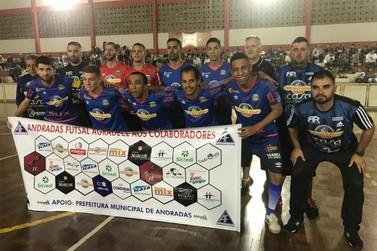 Andradas estreia com vitória fora de casa na Taça EPTV de futsal
