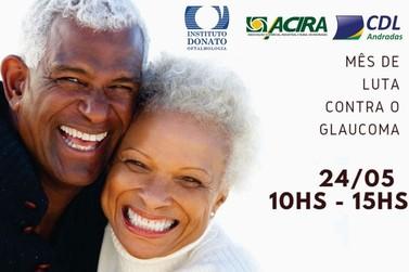 Andradas recebe evento de prevenção ao Glaucoma nesta sexta-feira