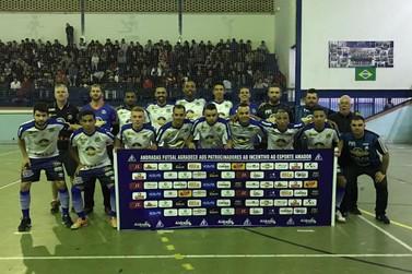 Andradas vence e assegura primeiro lugar do grupo na Taça EPTV de Futsal