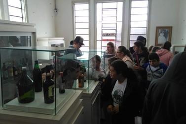 Estudantes andradenses participam da 17ª Semana dos Museus