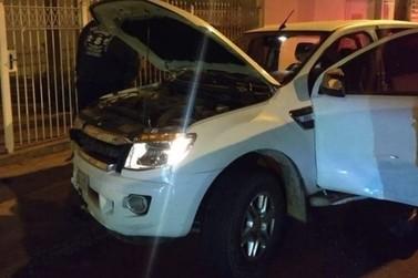 Caminhonete que se envolveu em acidente em Andradas foi usada em assalto