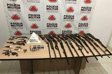 Polícia Militar apreende drogas e armas durante operação na região