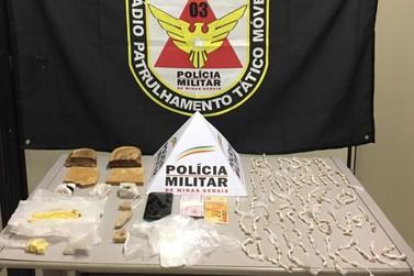 Polícia Militar prende traficante com quase 4 mil pedras de crack