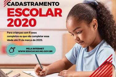 Cadastramento Escolar 2020 para a rede municipal tem início