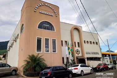 Câmara de Andradas entra em recesso parlamentar a partir de quarta-feira