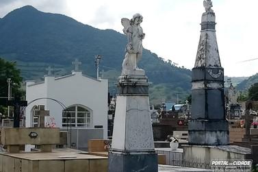 Cemitério de Andradas fica parcialmente interditado nesta segunda