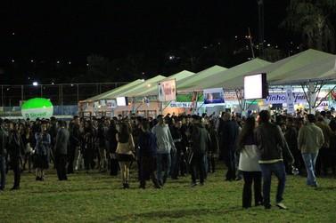 Confira como foi o primeiro dia da 54ª Festa do Vinho de Andradas