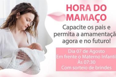 Hora do Mamaço 2019 vai reunir mães no materno infantil de Andradas
