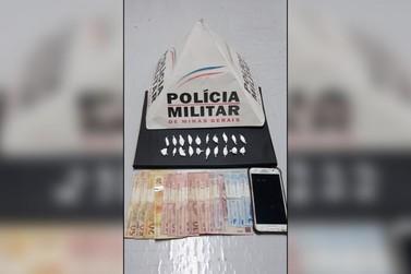 Polícia Militar prende dois jovens por tráfico em Andradas