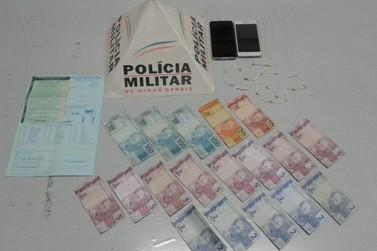 Polícia Militar prende duas pessoas por tráfico em Andradas