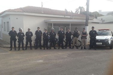 Polícia Militar realiza fiscalização de trânsito em Andradas