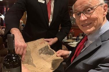 Ex-senador elogia vinhos andradenses através das redes sociais