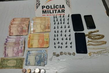 Polícia Militar prende três por tráfico de drogas em Andradas