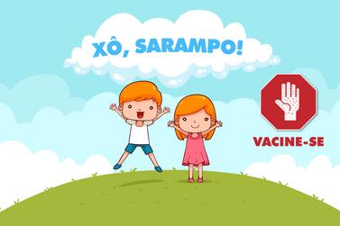Prefeitura de Andradas alerta para importância da vacinação contra o Sarampo