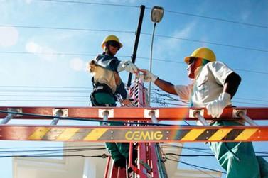 Avenida e sítio de Andradas ficam sem energia elétrica na quarta-feira
