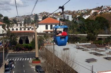 Teleférico tem último final de semana com horários especiais em Poços de Caldas
