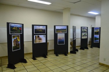 Exposição reúne fotos de pontos marcantes de Andradas