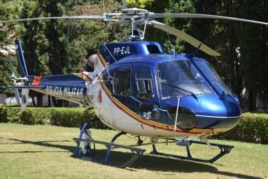 Região terá hangar para helicóptero da Polícia Militar