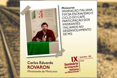 Seminário da Imigração Italiana tem inscrições abertas para minicurso