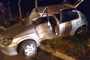 Acidente deixa quatro feridos em Poços de Caldas