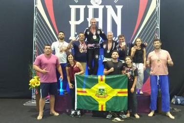 Atletas de Andradas têm bom desempenho no Pan-americano de Jiu-Jitsu