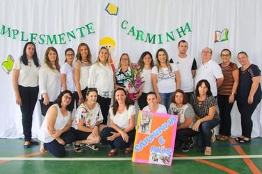 """Escola Municipal de Andradas apresenta resultados do """"Simplesmente Carminha"""""""