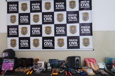 Polícia Civil prende suspeito de cometer furtos em unidade do Instituto Federal