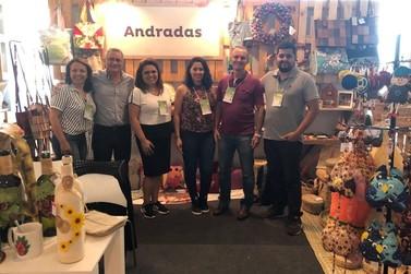 Andradas é destaque em Feira de Artesanato na capital mineira