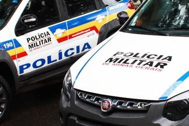 Autor de roubo é preso pela Polícia Militar em Andradas