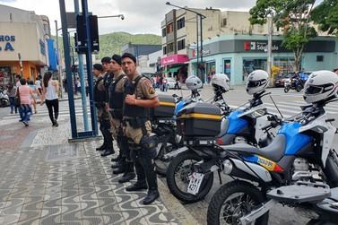 Operação Natalina: efetivo maior de policiais, já está nas ruas
