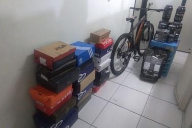 Polícia Militar prende suspeito de desviar mercadorias dos Correios