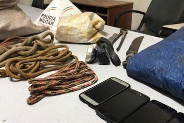 Suspeitos de furtar gado são presos pela PM em Andradas