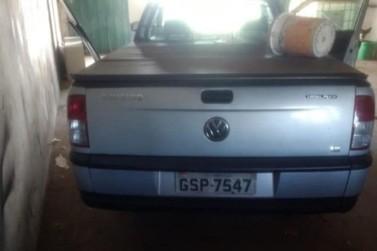 Veículo é furtado na zona rural de Andradas
