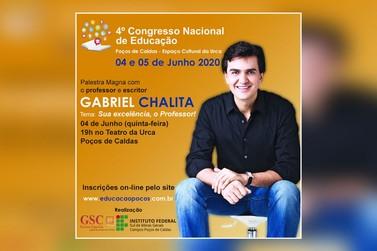 Gabriel Chalita participa de congresso sobre Educação em Poços de Caldas