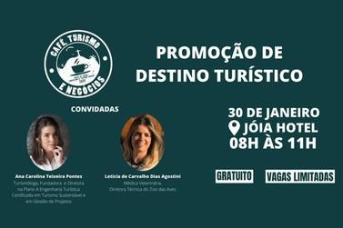 Poços CVB promove encontro gratuito sobre promoção turística