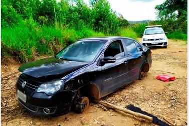 Veículo furtado é localizado pela Guarda Municipal de Andradas