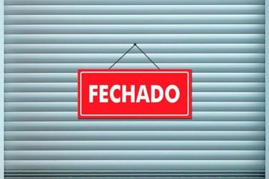 Estabelecimentos anunciam interrupção de atendimento ao público em Andradas