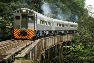 Região deve ter volta de vários trens turísticos