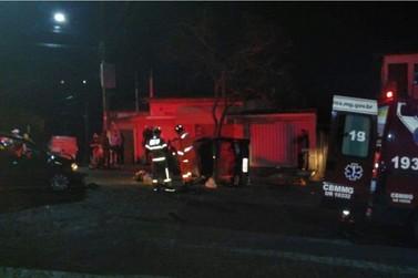 Homem é preso por dirigir embriagado e causar acidente em Poços de Caldas