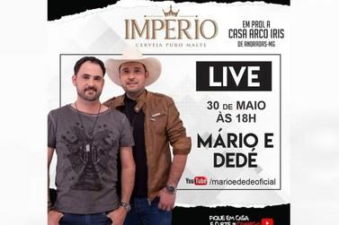 Live nesse sábado vai ajudar a Casa Arco-Íris, em Andradas