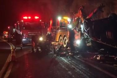 Acidente deixa um morto e outro gravemente ferido entre Poços e Águas da Prata