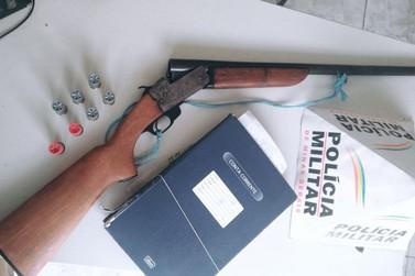 Polícias Civil e Militar apreende arma e munições irregulares em Andradas