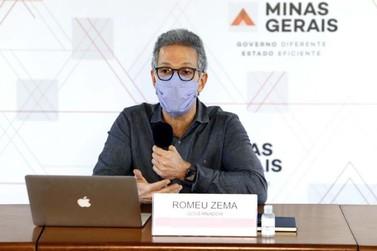 Romeu Zema anuncia que PM vai fiscalizar uso obrigatório de máscaras em MG