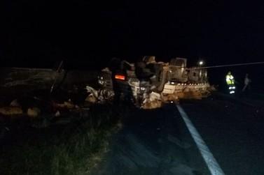 Andradense morre em acidente com caminhão na Rodovia Fernão Dias