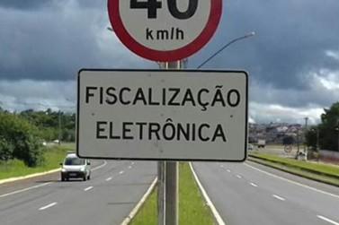 Novo radar na região passa a multar a partir da próxima semana
