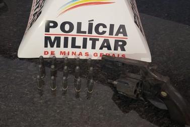 Polícia Militar apreende arma de fogo irregular em Andradas