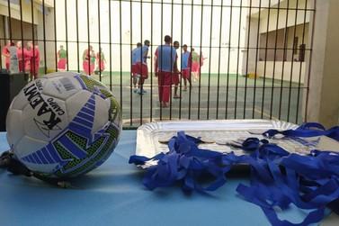 Presídio de Andradas realiza 12º Campeonato de Futsal