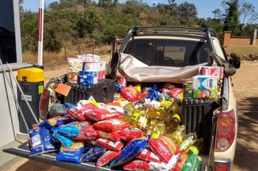 Clube de Voo Livre Gavião faz doação de alimentos à Santa Casa