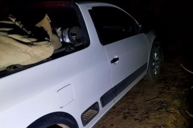 Polícia troca tiros com bandidos e recupera veículo roubado