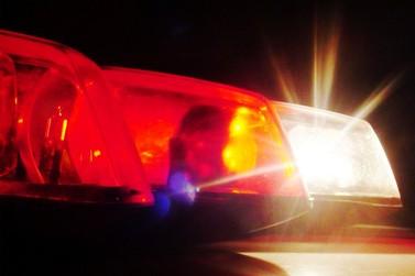 Casal e dois filhos são atropelados na região central de Ouro Fino